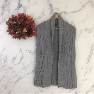 Tommy Bahama Cable Knit Open Front Cardigan